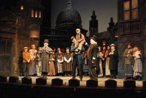 A Christmas Carol at The Colonial Theatre, Pittsfield, MA; photo: Christina Riley