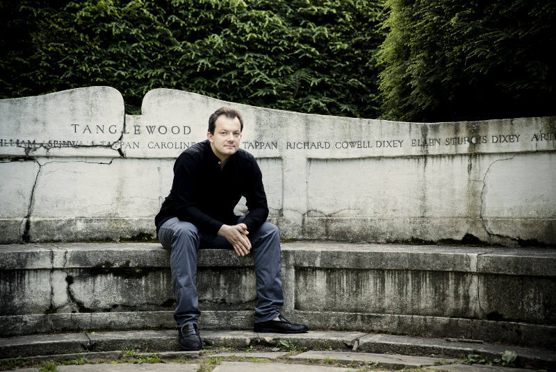 Andris Nelsons on Tanglewood campus. Photo: Marco Borggreve