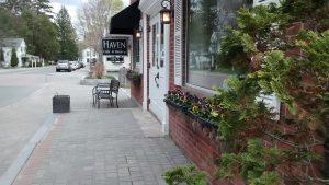 Petunias perennial window box winners Lenox, MA