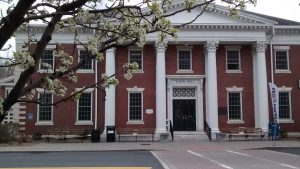 Town Hall Lenox, MA early spring photos