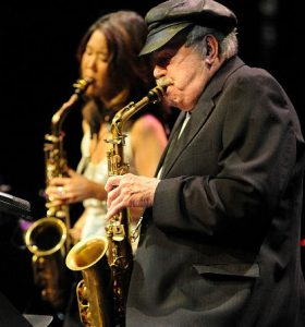 Phil Woods and Grace Kelly pittsfield CityJazz Festival