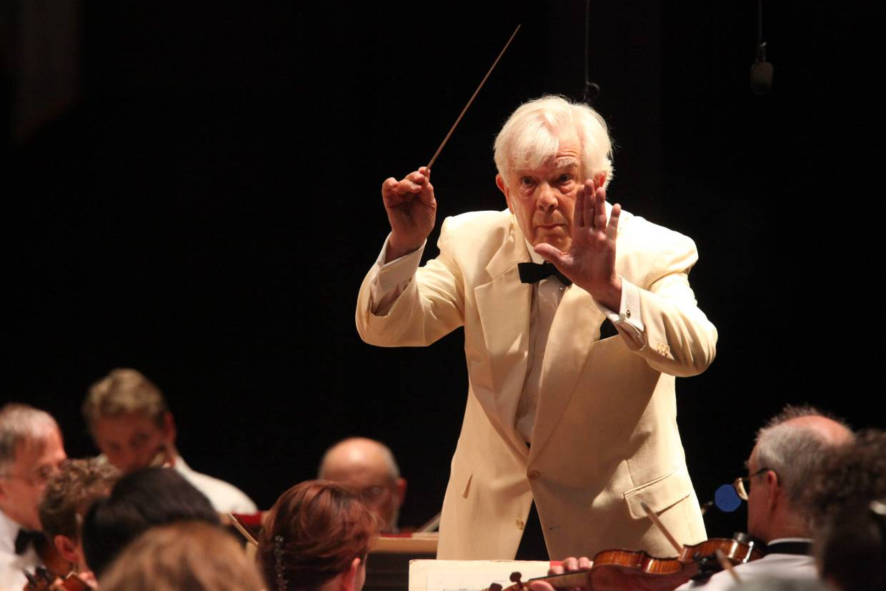 Christoph von Dohnanyi conducts at Tanglewood July 2014