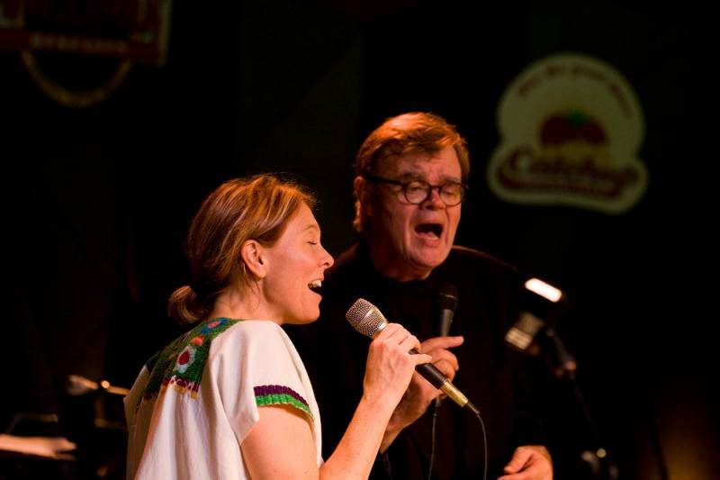 Inga Swearingen was featured on the 2008 broadcast from Tanglewood of A Prairie Home Companion with Garrison Keillor