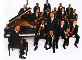 Lincoln Center Jazz Orchestra with Wynton Marsalis performed at Tanglewood June 27, 2003.