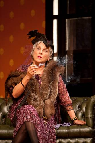 Tyne Daly in a scene from The Importance of Being Earnest at Williamstown Theatre Festival.